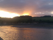 Sunset on Erme Estuary
