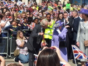 The Queen in Hitchin