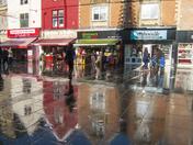 Saturday morning in Weston-super- Mare town