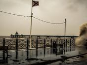 Clevedon storms on sunday