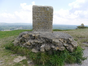 Brent Knoll on a sunny day.