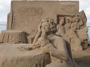Sand Sculptures.