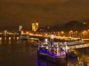 London at Night scene