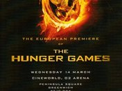 HUNGER GAMES PREMIERE AT THE 02