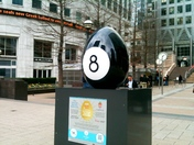 The Faberge Egg hunt Reuters Plaza