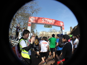 Running the Sport Relief Mile 2012 in London through Sophie's Eye