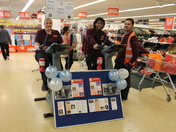 Sainsbury's Cycling Challenge in Chadwell Heath Highroad