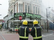 Restaurant fire in Green Street, Upton Park