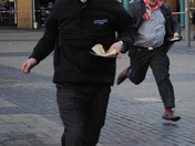 Bexleyheath charity pancake race