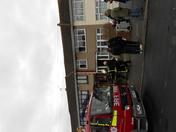 House fire in Rosebank