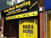 scrap metal theft thriving in Dagenham yet the Council gives scrap metal shops l