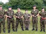 Ipswich Army Cadet Forcesr receive Queens Diamond Jubilee Medal