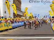Ladies Tour Stage 1 finish