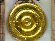 Unusual Clock in Cambridge, (Corpus Clock)