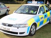 Older Met Police Car