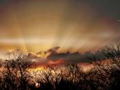 Sunrise this morning