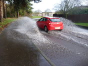 Flooding in Thetford...