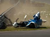 Sidecar Crash at Snetterton bsb event