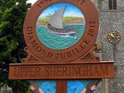 Upper Sheringham Sign