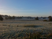 Frost across the Yare Valley