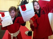 East Coast Black Belt Karate school youngsters make the grade