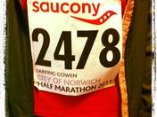 City of Norwich half marathon 2011
