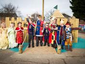 'Norwich Wooden Castle' opening