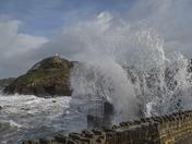 Storm Doris in Ilfracombe