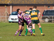 Exmouth RFC at home to Barnes - action from their match on the 18th February.