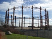Beckton Newham, London, Former Gas Works Armada Way, Gallions Reach.