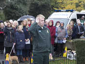 Remembrance service takes place in Biggin Hill Kent