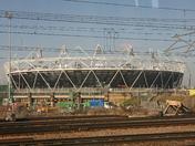 The London Olympic stadium 2012