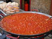 Bean hot pot at the Borough Market, London