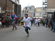 The Pancake Race, The old Brewery, Brick Lane