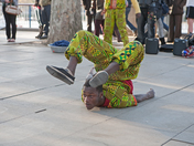 Street Entertainer on The South Bank