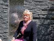 Judith Chalmers at the Chelsea Flower Show 2011