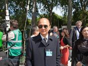 Jimmy Choo enjoying the Chelsea Flower Show 2011