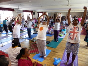 International Yoga day - Celebrations.