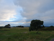 The Maer just before dusk