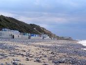 Evening on Cromer beach