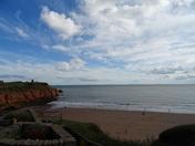 Sandy Bay beach on an autumn afternoon
