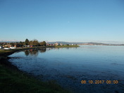 An autumn morning over the estuary