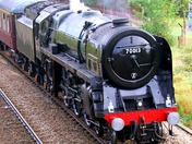 Steam Train Oliver Cromwell