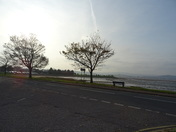 Late afternoon sunshine over Exe Estuary