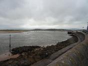 Exmouth looking towards Dawlish at low tide