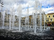 Town centre fountains