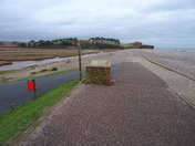 Budleigh Salterton footpath, by Line Kiln