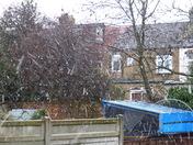 Snow in Gants Hill Ilford