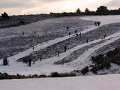 Sledging at the Golf Club
