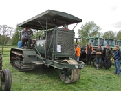 Holt World War 1 Tractor at Suffolk Young Farmers Show last year